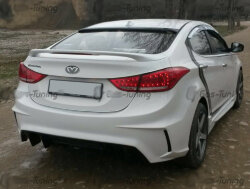 Задний бампер «M&S Version 2.0» для Hyundai Elantra V / Avante MD
