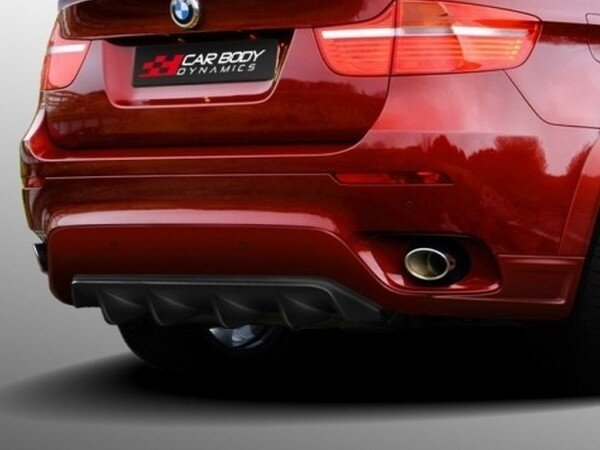 НАКЛАДКА ЗАДНЯЯ BMW X6 CARBODYDYNAMICS